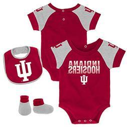 Outerstuff Infant Indiana University Hoosiers Creeper Set Ba