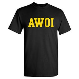 Iowa Hawkeyes Basic T-Shirt - 3X-Large - Black