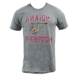 IU Hoosier Basketball Tee - Athletic Grey Indiana University