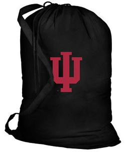 IU Laundry Bags BEST Indiana University Clothes Bag w/ SHOUL