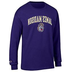 Elite Fan Shop James Madison Dukes Long Sleeve Tshirt Varsit