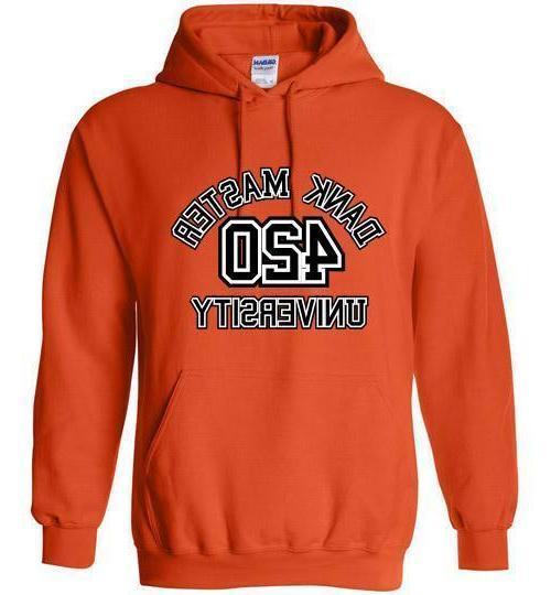 Dank University Hoodie fashion shirt weed