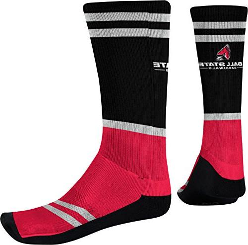 Men's Ball State University Classic Sublimated Socks