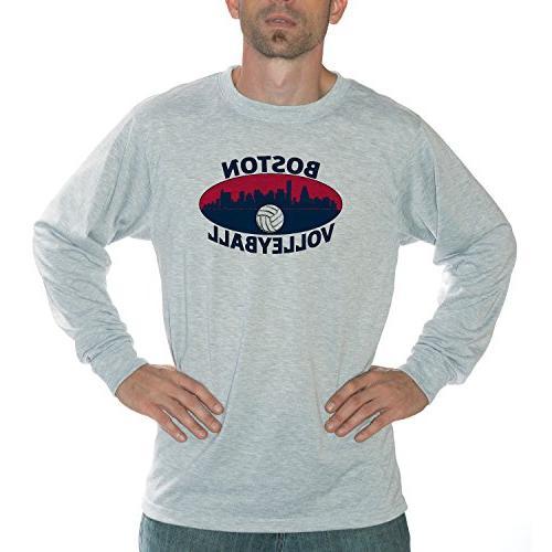 Vapor Apparel Boston Volleyball Performance Long Sleeve Shir