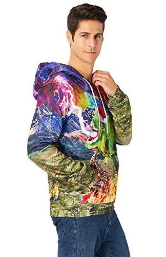 Print Drawstring for Women Men