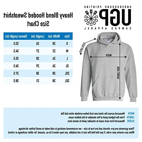 UGP Campus Apparel - Ramblers Basic Block Hoodie -