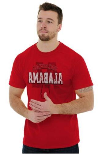 Alabama Student University College Short Tees