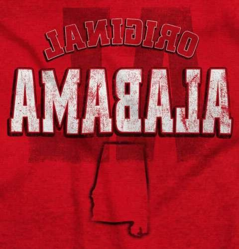 Alabama Student University College Short Tees Tshirts