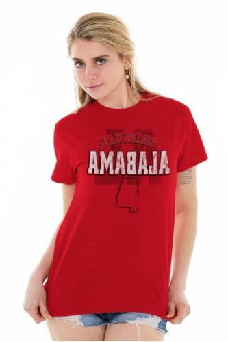 Alabama University Football College Short Tees Tshirts