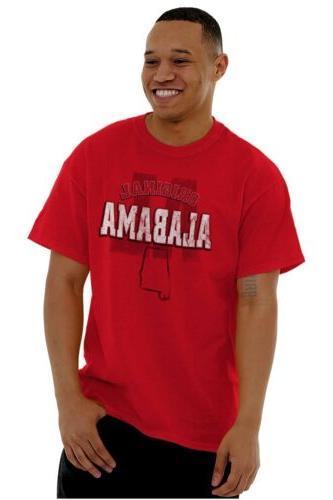 Alabama Student Football College Short Tees Tshirts
