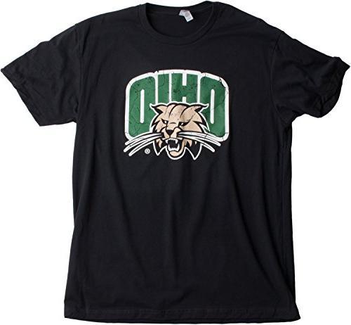 Ann Ohio University   Bobcats Style Unisex T-Shirt -Adult,M