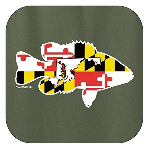 Bass Home State T-Shirt Large MlGrn