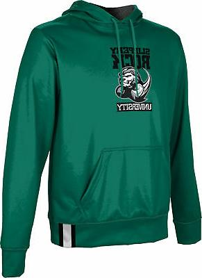 boys slippery rock university solid hoodie sweatshirt