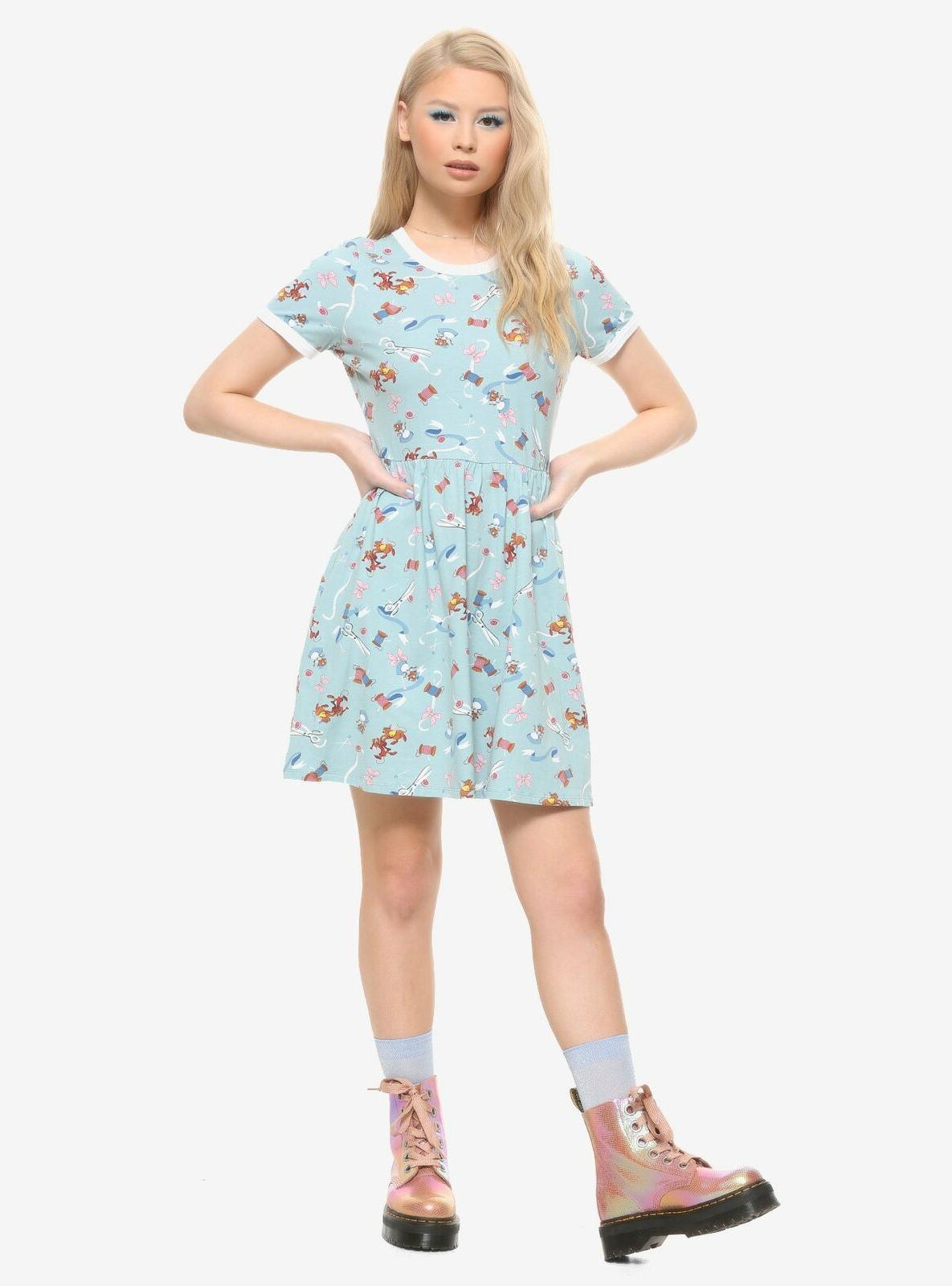 DISNEY DRESS HER MICE SEWING GUS TAPE 70