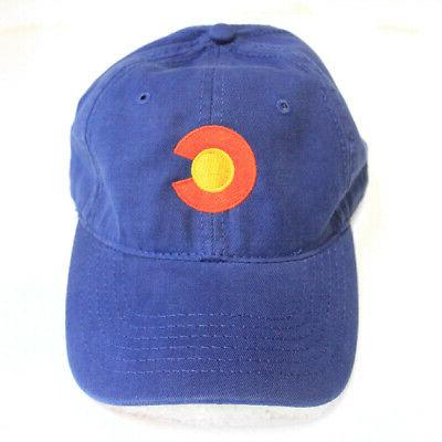 Colorado State Flag Low Profile Baseball Coloradan Golf