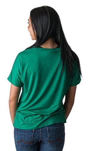 Colorado State University CSU Ladies' Flowy Shirt-Vneck,XL