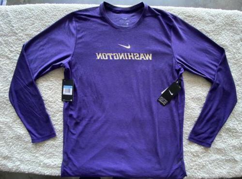 Nike Fit Field University Of Washington Huskies M