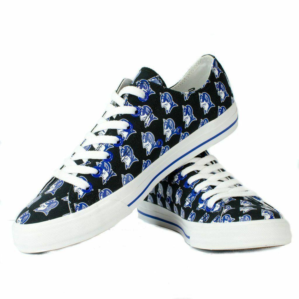 new concept 04408 15ef3 Duke University Blue Devils Apparel NCAA Row One Men Women Kids Sneakers  Shoes