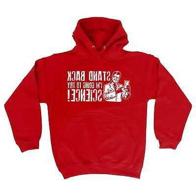 funny hoodie im going to try science