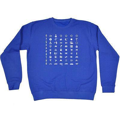 funny novelty sweatshirt jumper top universal translator