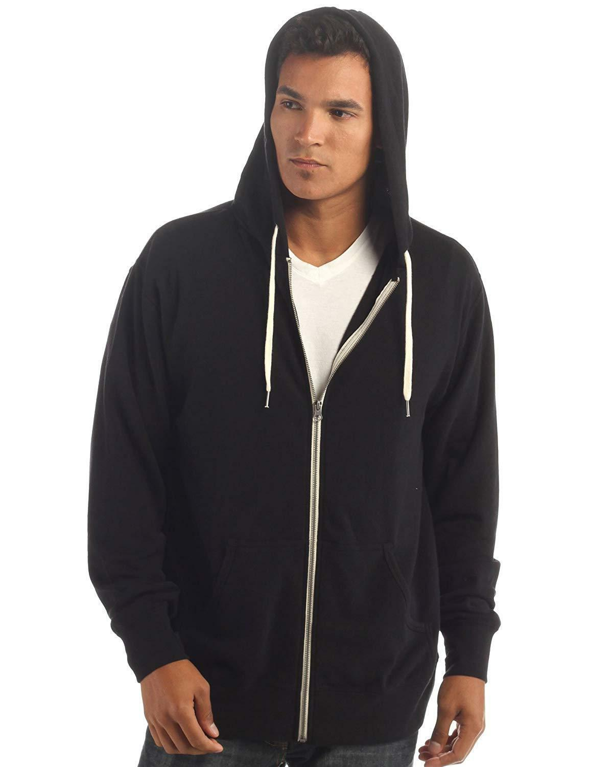 Global Fit Terry Zip Up Hoodie Men Women