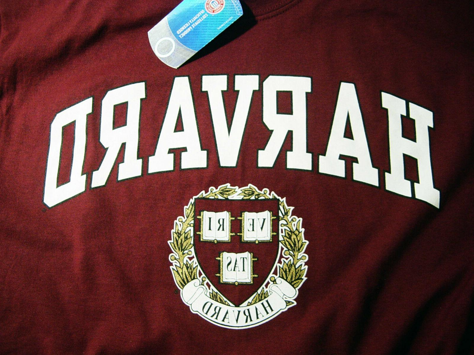 Harvard Shirt T-Shirt University Gifts Womens Mens Apparel
