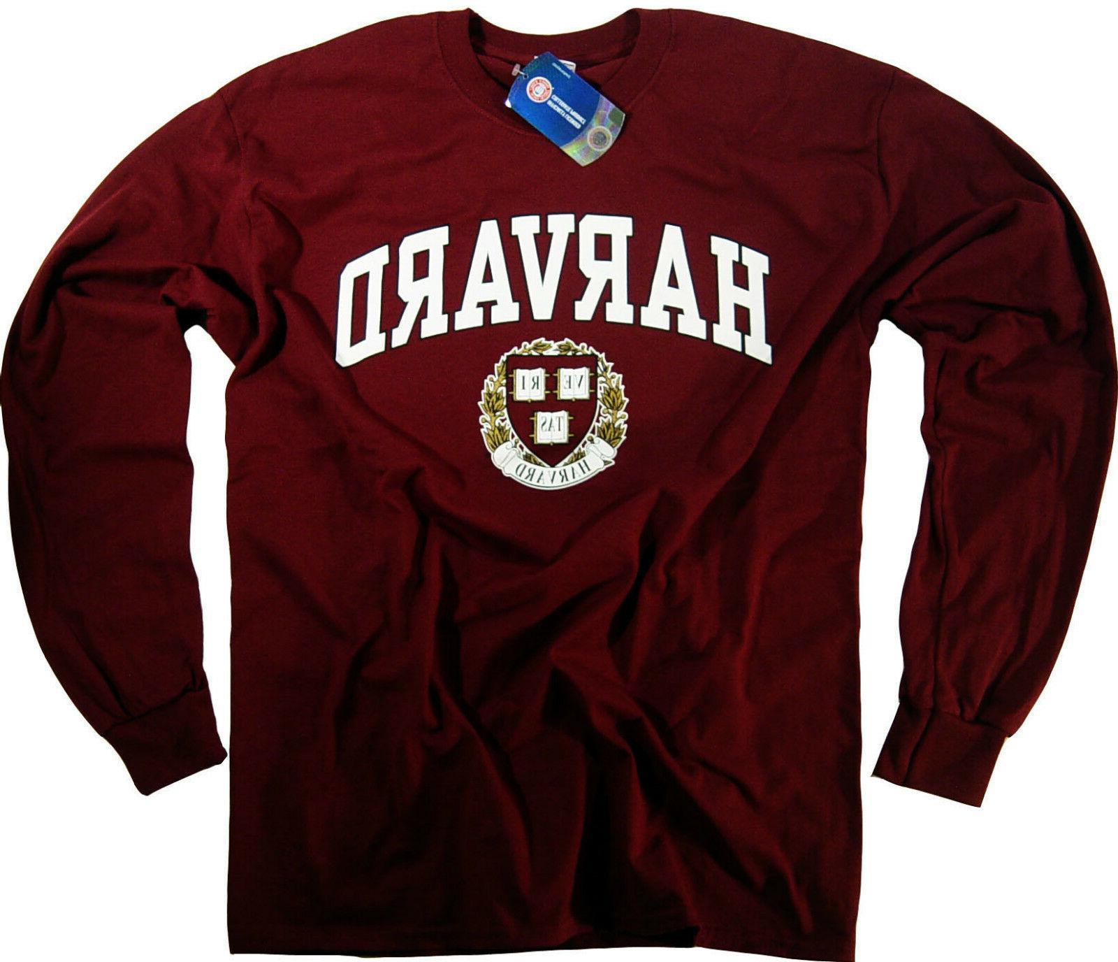 harvard shirt t shirt university apparel