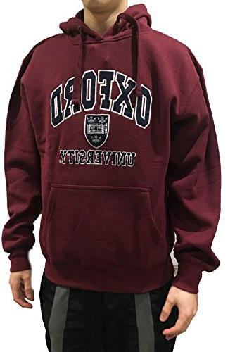 Official Oxford University Hoody - - Official Apparel Famous Univeristy of