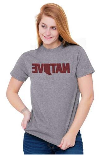 Indiana Native Indy Pride Short T-Shirt Tees Tshirts
