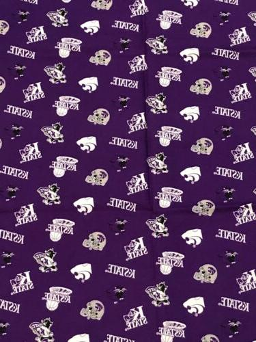 "Kansas Cotton 3/4 yd 42"" KSU#045"