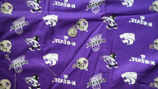 kansas state university wildcats football basketball cotton