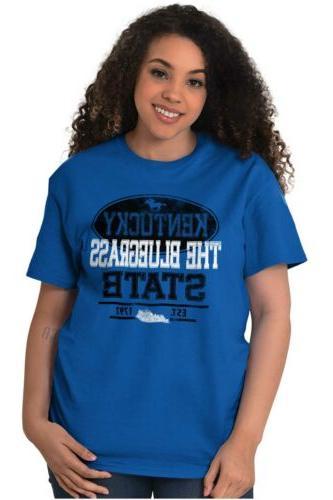 Kentucky Bluegrass State Sports Short Sleeve Tees Tshirts