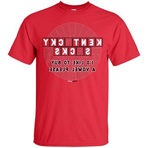 Rival Gear Louisville Cardinals Fan T-Shirt, Buy a Vowel