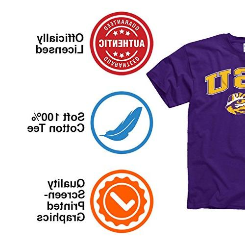 Campus LSU Tigers Adult Arch Soft Style -
