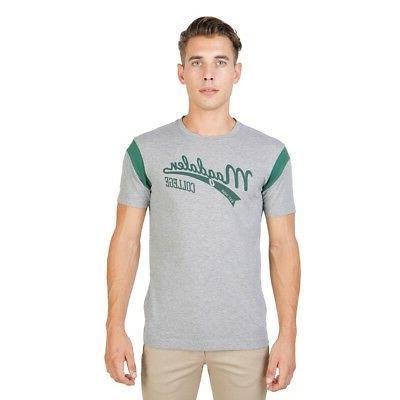 men clothing t shirt regular roundneck grey