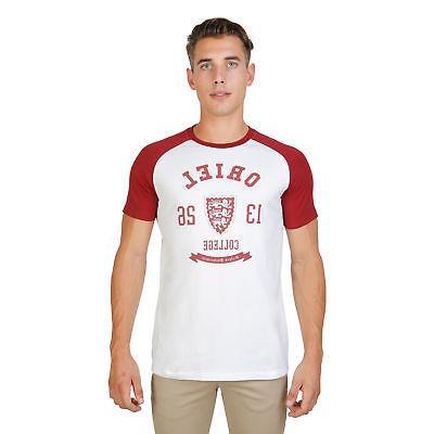 men clothing t shirt regular roundneck red