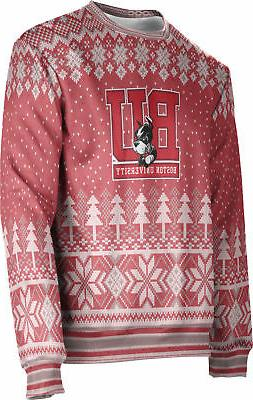 ProSphere Men's Boston University Ugly Holiday Winter Sweate