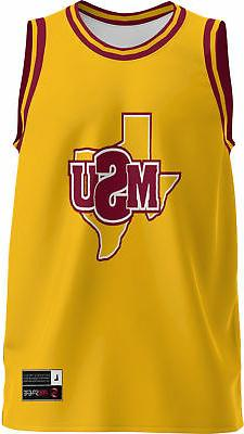 men s midwestern state university retro replica