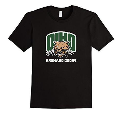 men s proud grandpa ohio university bobcats