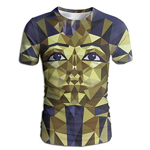 men s summer golden tutankhamun casual novelty