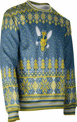 Unisex University of Rochester Ugly Holiday Decoration Sweater UR Apparel
