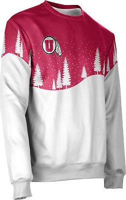 ProSphere Men's University of Utah Ugly Holiday Solstice Swe