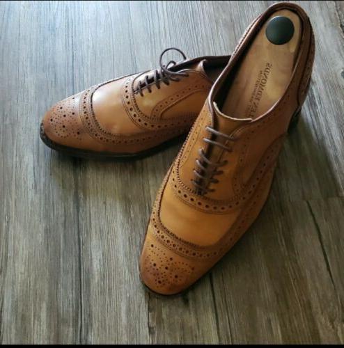 Men's Edmonds University Walnut Shoes 10.5D
