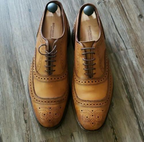 Men's Allen Edmonds Walnut Shoes Sz