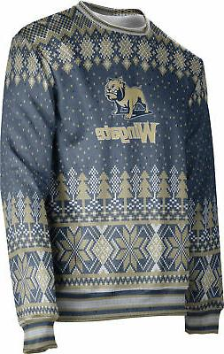 ProSphere Men's Wingate University Ugly Holiday Winter Sweat