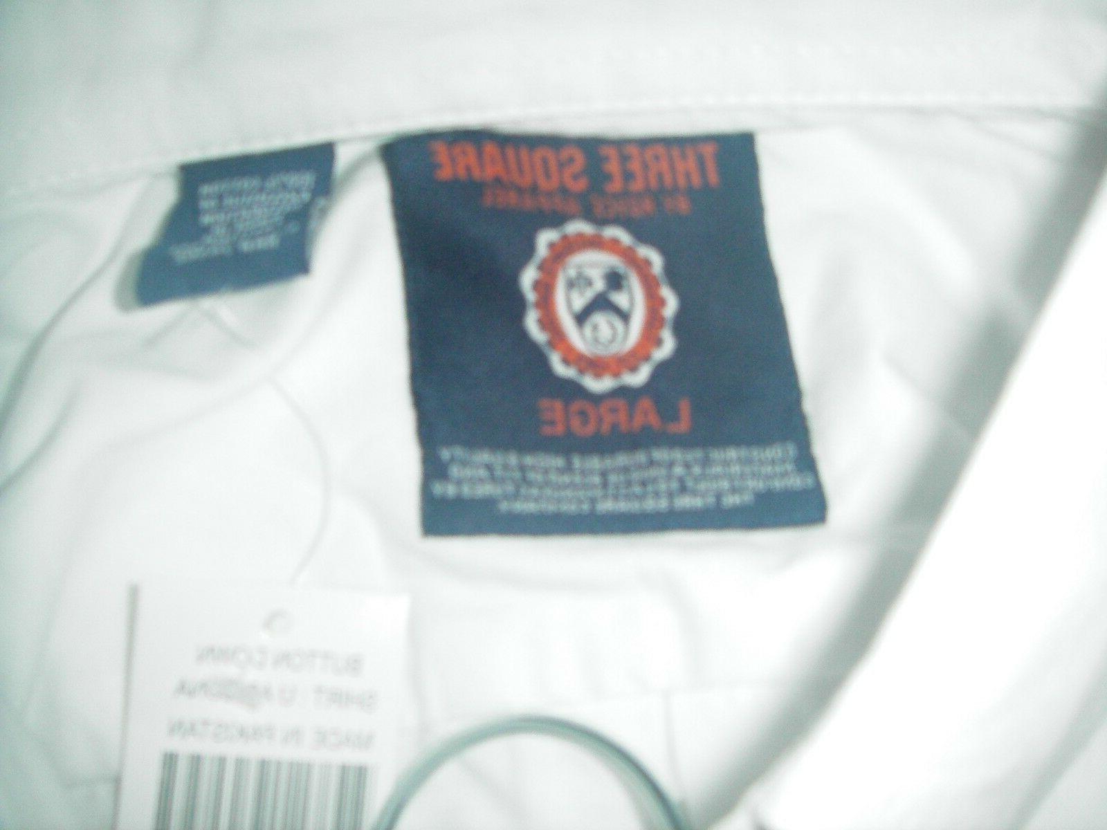 Men's Long Sleeve Medium Up White NWT