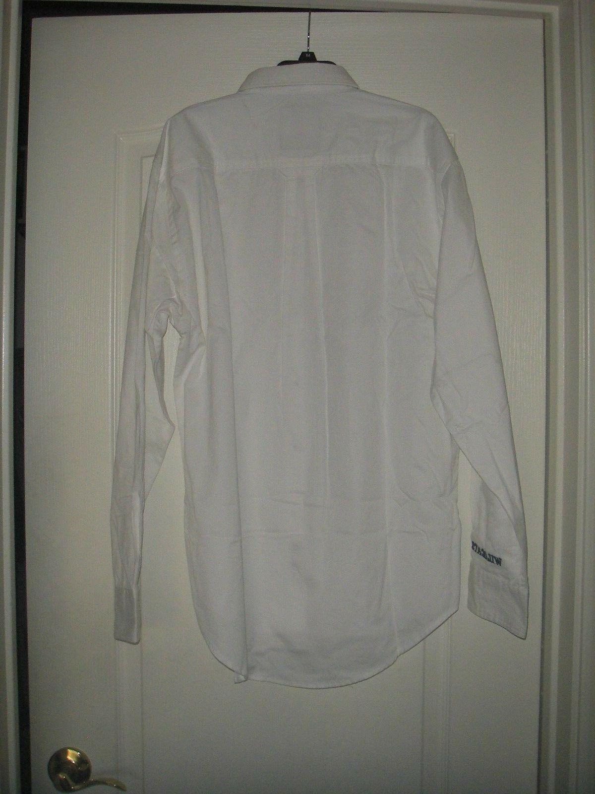Men's University of Long Medium Button Up Dress NWT