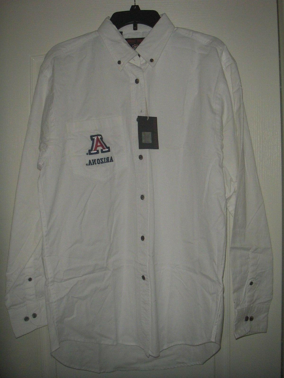 mens university of arizona long sleeve medium