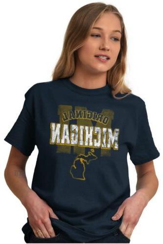 Michigan University College Tees Tshirts