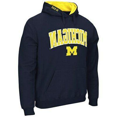 Michigan Wolverines & Pullover - Navy